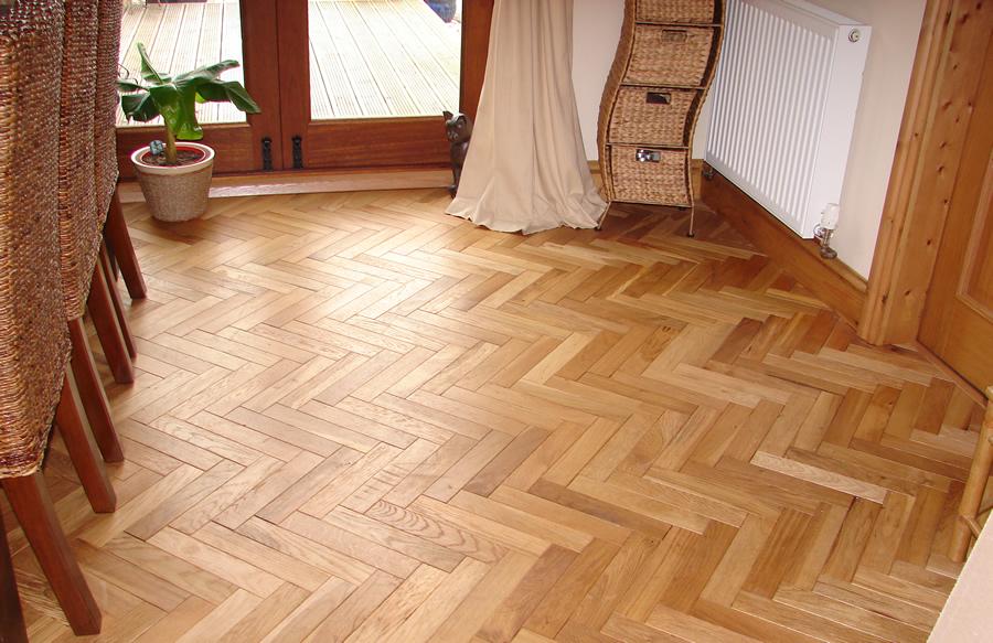 Solid Oak Parquet Flooring 1m2