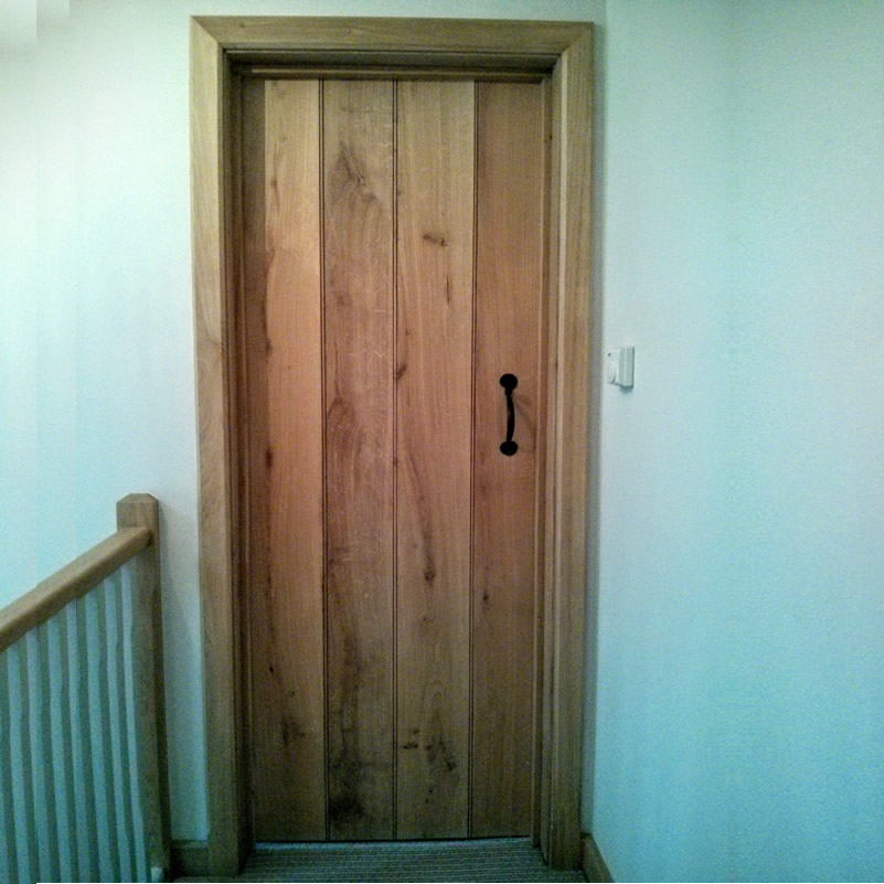 Solid oak Tu0026G ledge pencil bead farmhouse doors & Solid oak Tu0026G ledge pencil bead farmhouse doors - Oak Flooring Man