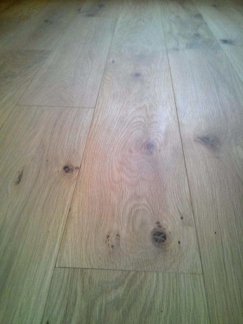 natural solid unfinished floor flooring wood overhead oak