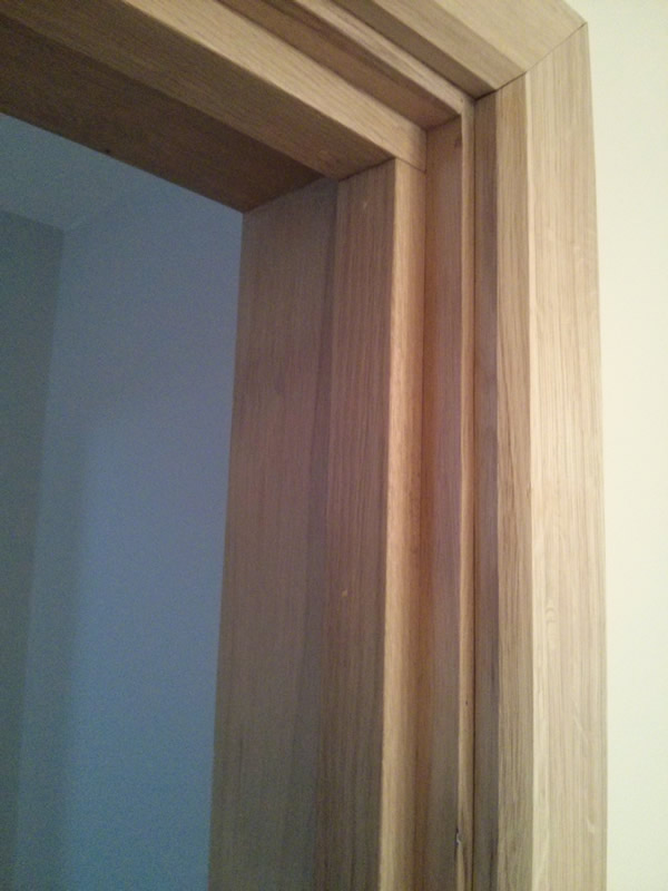 Oak architrave oak flooring man for Door architrave